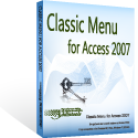 Box of Classic Menu for Access 2010