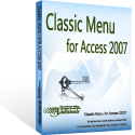 Box of Classic Menu for Access